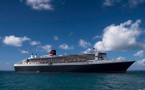 Queen Mary 2,  St Lucia Harbor